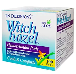 witch hazel to cure hemorrhoids at home